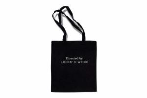 Черная сумка шопер с принтом «Directed by Robert B. Weide»