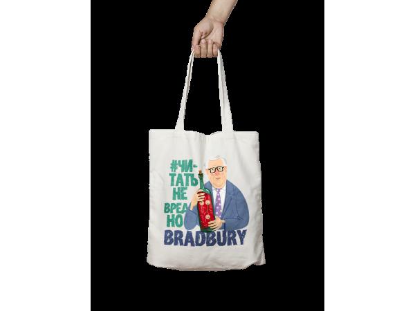 Сумка шоппер с иллюстрацией «Брэдбери»