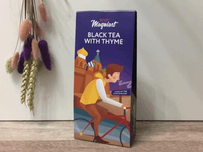 Чай черный с Чабрецом сувенирный Спас на Крови