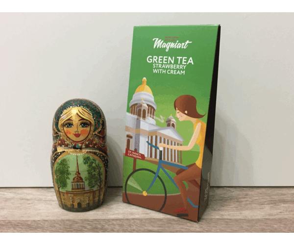 Чай зеленый «Исаакиевский собор» в сувенирной упаковке
