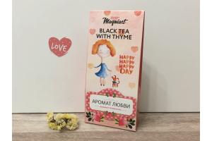 Чай черный с Чабрецом Аромат Любви