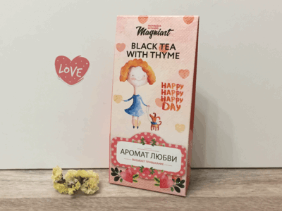 Чай черный «Аромат Любви» в сувенирной упаковке