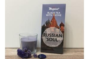 Чай черный с Чабрецом Русская душа