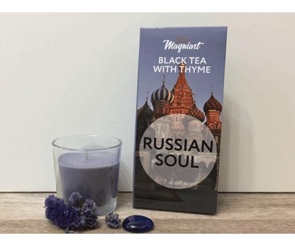 Чай черный «Русская душа» в сувенирной упаковке