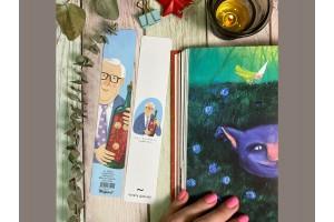 Книжная закладка «Брэдбери»