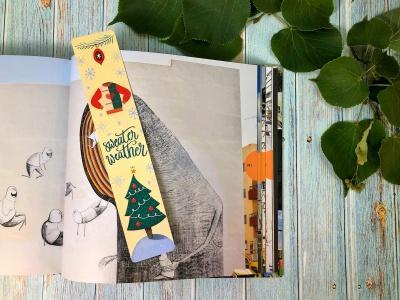 Закладка книжная «Sweater weather»